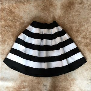 Express Striped Skirt